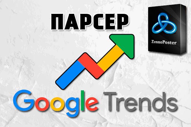 Парсер Google Trends